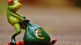 geld kikker