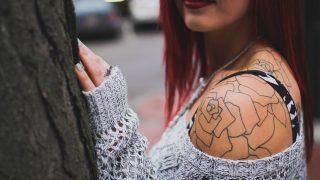 foto meisje tattoo